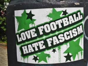 lovefootballhatefascim